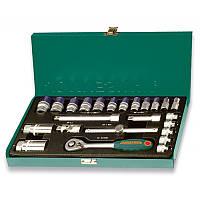"""Набор инструментов Jonnesway 3/8"""" DR 6-22 мм (25 предметов)"""
