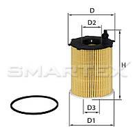 Фильтр масляный SMARTEX ОЕ18026ЕСО (SCT SH 4793 P)