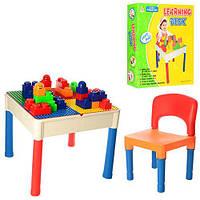Столик (51*51*44см) игровой 3в1 (набор таблиц), стульчик(43*23см), в кор. 52*52*17см (6шт)