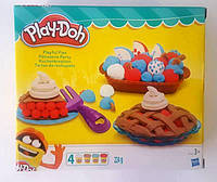 "Пластилин ""Play-Doh"", 4цв., 224гр, в кор. 20*18*6см (4шт)"