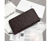 Кожаный кошелек Calvin Klein (79468) brown