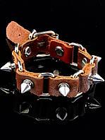 Кожаный браслет 23 см (016970)
