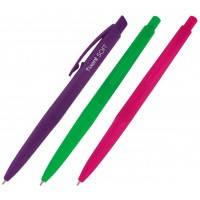 Ручка шариковая масляная Axent SoftAB1058-02-А автоматическая, синяя