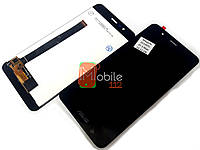 Модуль для Asus ZenFone 3 Max ZC520TL X008D (Дисплей + тачскрин), черный оригинал PRC