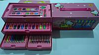 """Набор художника в коробке,3 яруса 56пр """"Хеллоу Китти Hello Kitty"""",280*140*120мм.Детский набор для рисования """"Х"""