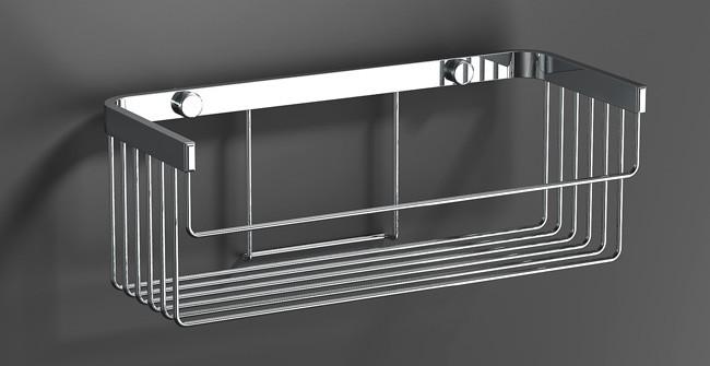 Полиця до ванної 27x10x12 см серія DeLux