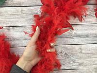 Боа из перьев Красное, 200 см