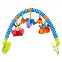 Дуга к коляске - Птичка и букашка, в сумке 40*32см, ТМ Baby Mix