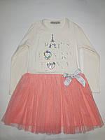 Платье нарядное для девочек TOONTOY от 5 до 8 лет., фото 1