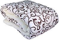 Одеяло Арктика двуспальное, шерсть + полиэфир, Ода
