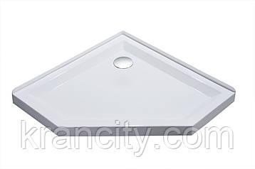 Душевой Поддон пятиугольный 1000*1000*40мм VOLLE 10-22-1010