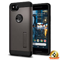 Чехол Spigen для Google Pixel 2 Tough Armor, Gunmetal, фото 1