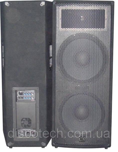 Комплект из 2-х акустических систем City Sound CS-212A-2 1000/2000 Вт