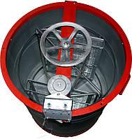 Медогонка 2-х рамочная алюмоцинковая с ременным электроприводом, фото 1