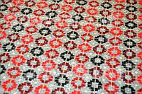 Кашемир с принтами Красные круги, фото 1