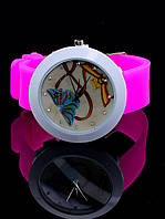 Женские часы Силиконовый ремешок (022225)