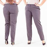 Элегантные классические брюки в полоску