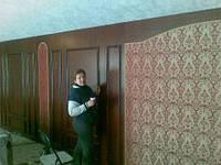 Обшивка стен тканью, фото 1