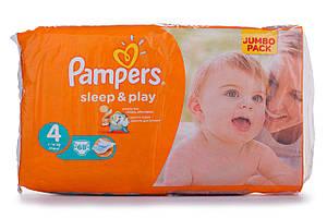 Подгузники PAMPERS Sleep & Play р4 8-14кг 68шт