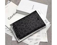 Кожаный кошелек Calvin Klein (79468) grey
