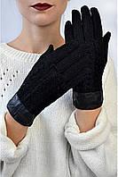 Женские трикотажные перчатки Бриоши