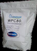 Протеин Ostrowia Milkiland WPC 80 Польша 1000 грамм