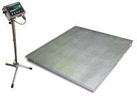 Весы платформенные Техноваги ТВ4-1000-0,2-(1250х1250)-N-12eh до 1000 кг
