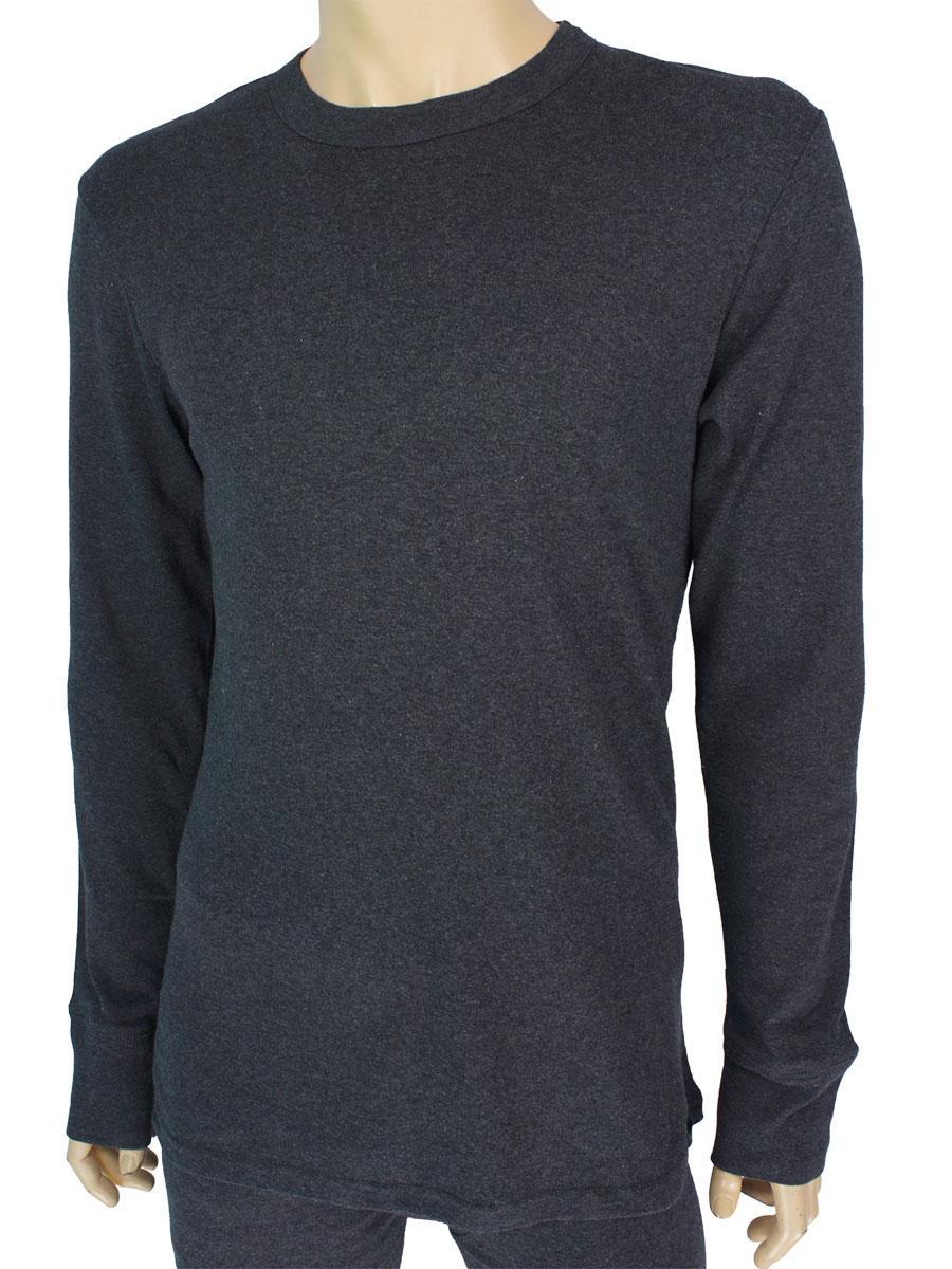 Чоловіча натільна кофта Key MVD 012 SZ в сірому кольорі