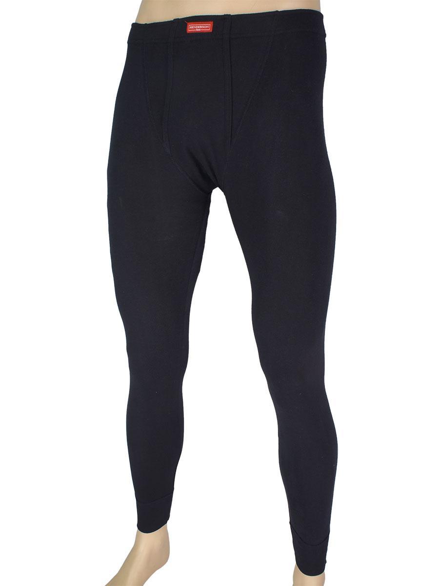 Черные мужские штаны-кальсоны Henderson 4862-J41