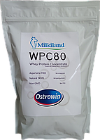 Протеин WPC-80 Milkiland Ostrowia (Польша), фирменный пакет