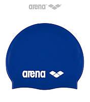 Детская (Junior) силиконовая шапочка для плавания Arena Classic Silicone JR (SkyBlue)