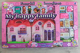 Домик для кукол мебель, аксессуары, фигурки размер 456*24*6 см