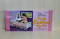 Мебель для кукол Спальня серия Глория