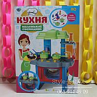 Кухня маленькая хозяйка для Барби со световыми музыкальными эффектами