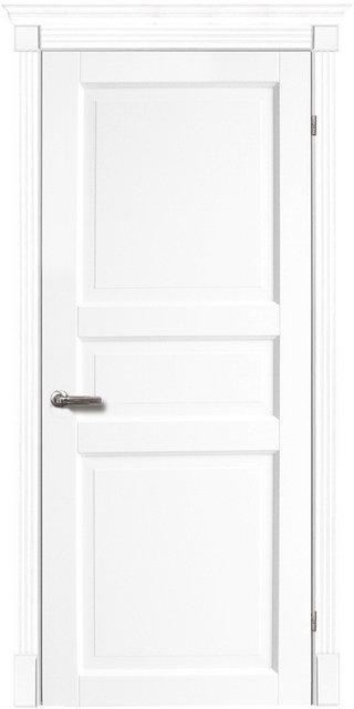 Межкомнатные двери Тессоро К 3 ПГ белая эмаль