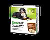 Таблетка Дронтал Плюс Drontal Plus для собак від глистів зі смаком м'яса до 35кг (1 таблетка)