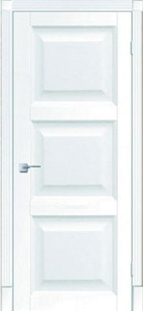 Межкомнатные двери Тессоро К 4 ПГ белая эмаль