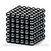 Неокуб черный 216 шариков Ø5мм