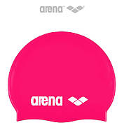 Шапочка для плавания Arena Classic Silicone (Fuchsia)
