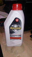 Havoline Xtendet life Coolant Concentrate 1 л красный
