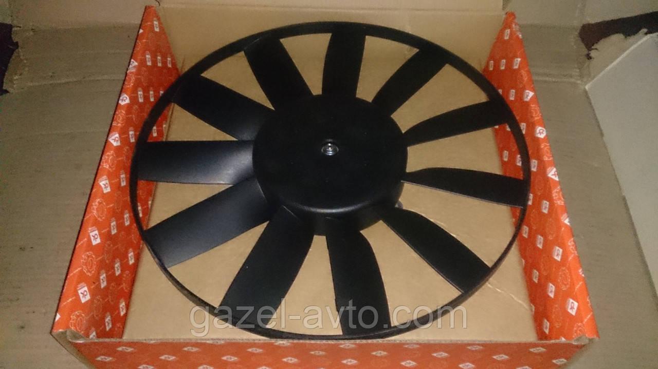 Электровентилятор охлаждающего радиатора ГАЗЕЛЬ (ЗМЗ 406) 12В
