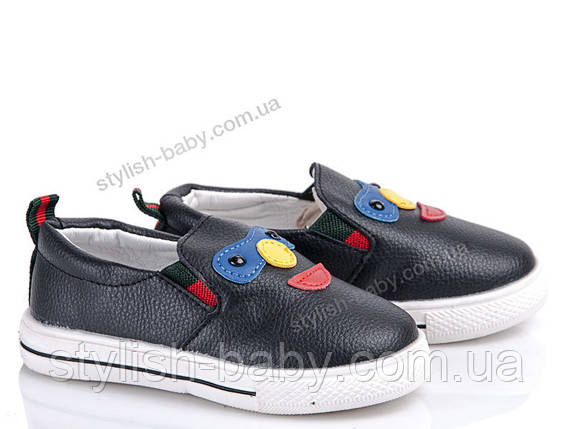 Детская спортивная обувь оптом. Детские кеды - слипоны бренда GFB (Канарейка) для мальчиков (рр. с 22 по 26), фото 2