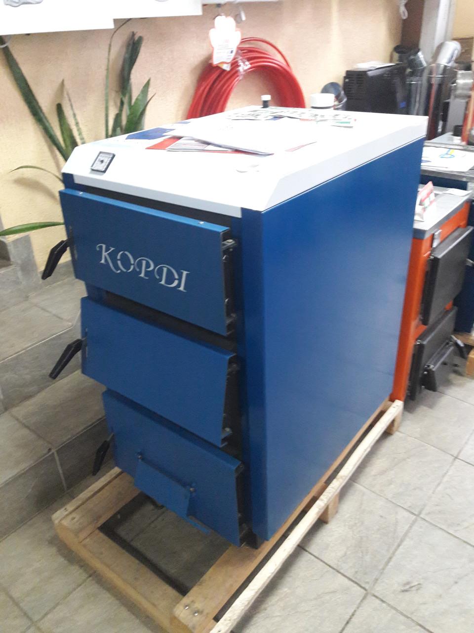 Корди АОТВ -26-30 Е твердотопливный котел 30 кВт + автоматика почти ДАРОМ
