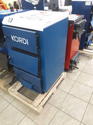 Корди АОТВ -12-14 Е твердотопливный котел с удлиненной топкой 20 кВт, фото 2
