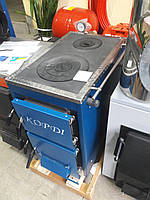 Корди АКТВ-10 твердотопливный котел с плитой