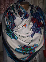 Платок шелковый  турецкий узор