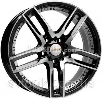 Литые диски Speedline Imperatore R19 W8.5 PCD5x114.3 ET40 DIA82 (black front diamond cut)