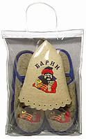Набор для бани и сауны Барин в упаковке