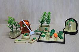 Набор мебели  в коробке для домика Sylvanian Families с флоксовыми животными