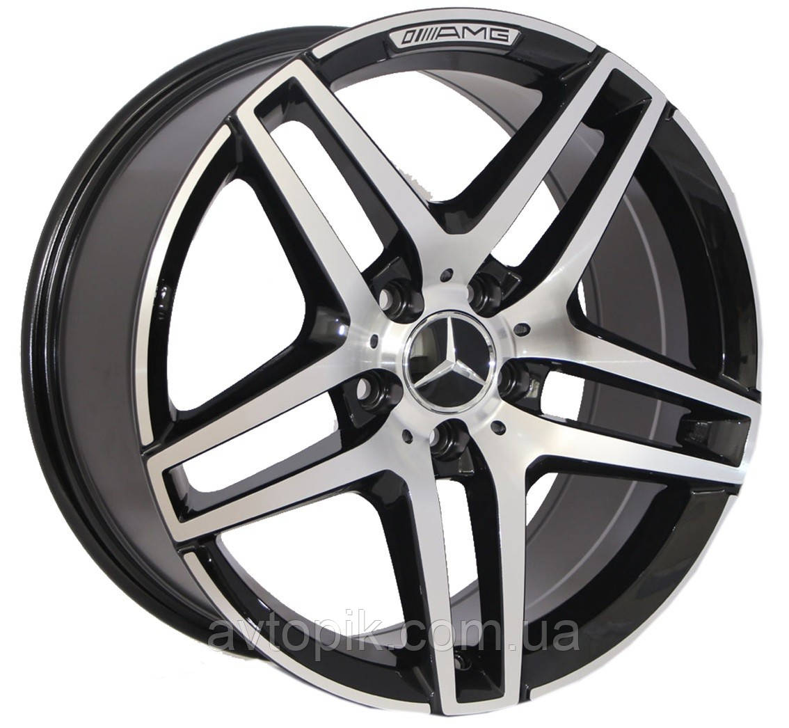 Литі диски Replica Mercedes (BK967) R20 W9.5 PCD5x112 ET35 DIA66.6 (GP)